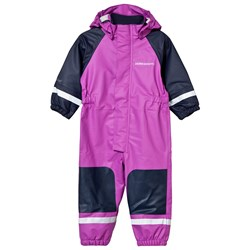 Didriksons Coverman Kid's Regnoverall Amethyst