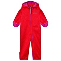 Didriksons Jiele Baby Coverall Tomato Red Tomato red