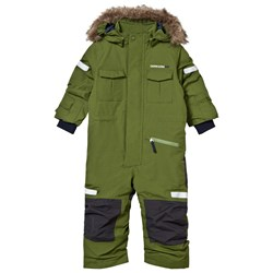Didriksons Migisi Kid's Overall Turtle Green