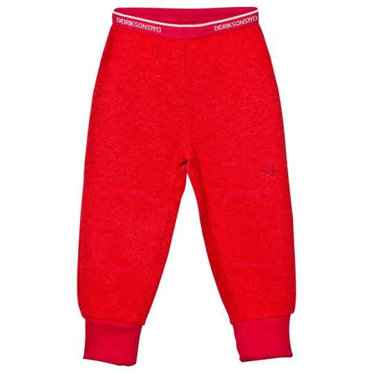 Didriksons Etna Kid's Pants Tomato Red Tomato red