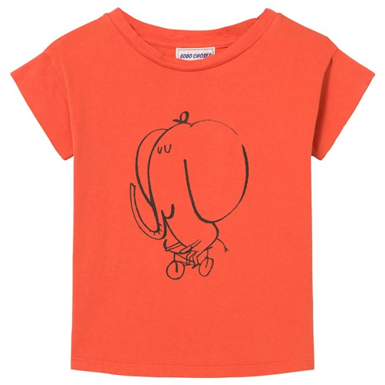 Bobo Choses The Cyclist T-Shirt Red Clay Red Clay
