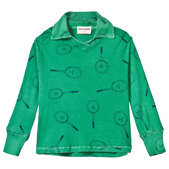 Bobo Choses Tennis Football Polo Mint Mint