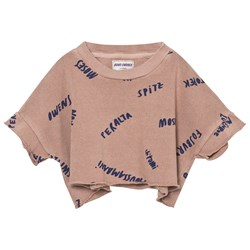 Bobo Choses The Legends Cropped Sweatshirt Off Rose