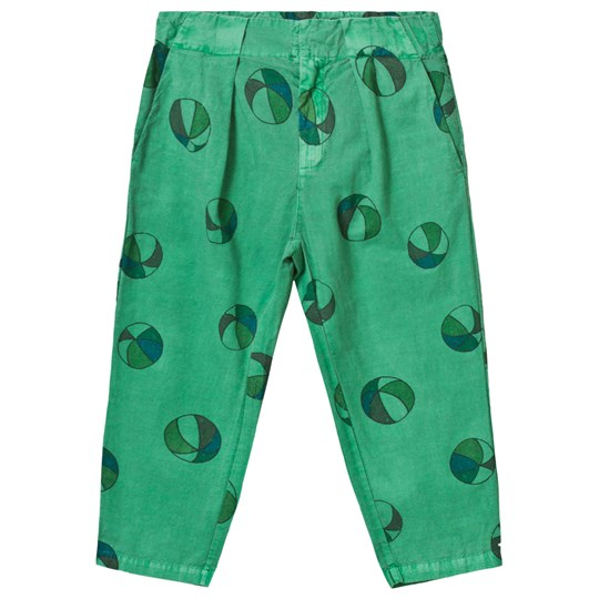 Bobo Choses Basket Ball Chino Trousers Mint Mint