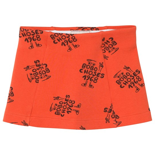 Bobo Choses 1968 Tennis Skirt Red Clay Red Clay