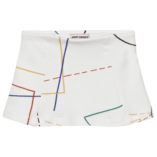 Bobo Choses Court Tennis Skirt Off White Off white