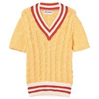 Bobo Choses B.C. Cable Knit Sweater Golden Nugget Golden Nugget