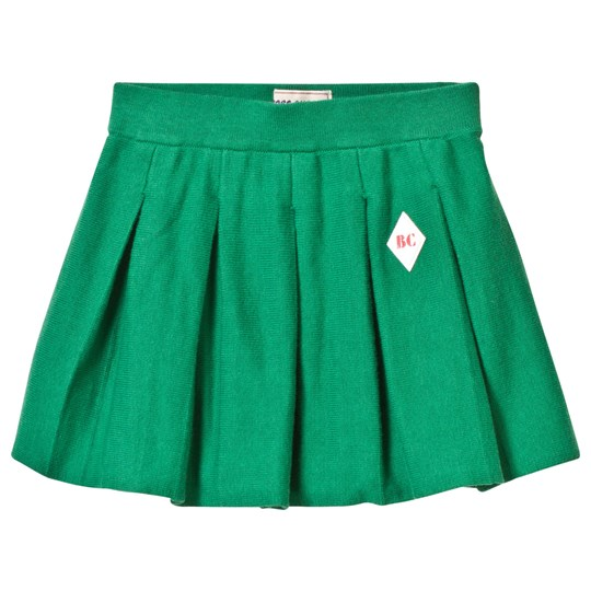 Bobo Choses Pleated Knitted Skirt Mint Mint