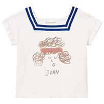 Bobo Choses John Sailor Shirt Off White Off white