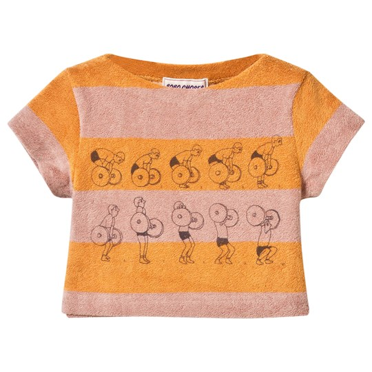Bobo Choses Baby Terry Top Weightlifting Golden Nugget Golden Nugget