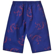 Bobo Choses Flamingos Baby Trousers Mazarine Blue Mazarine Blue