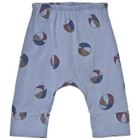 Bobo Choses Basket Ball Baggy Baby Trousers Cloud Blue cloud blue