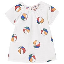 Bobo Choses Basket Ball Baby Dress Off White Off white
