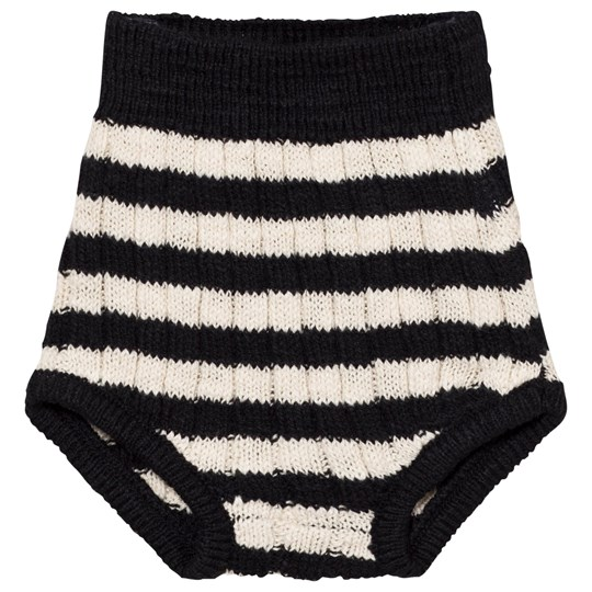 Bobo Choses Knitted Baby Bloomers Black Black