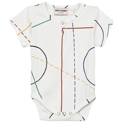 Bobo Choses Court Baby Body Off White
