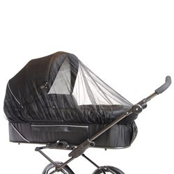 Basson Baby Carrycot Mosquito Net Black