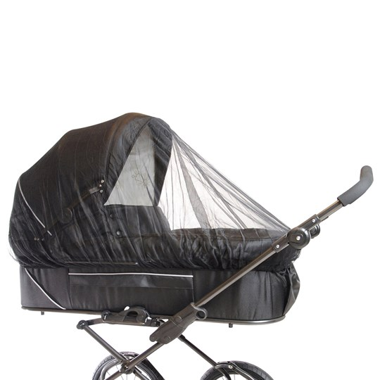 Basson Baby Carrycot Mosquito Net Black Multi