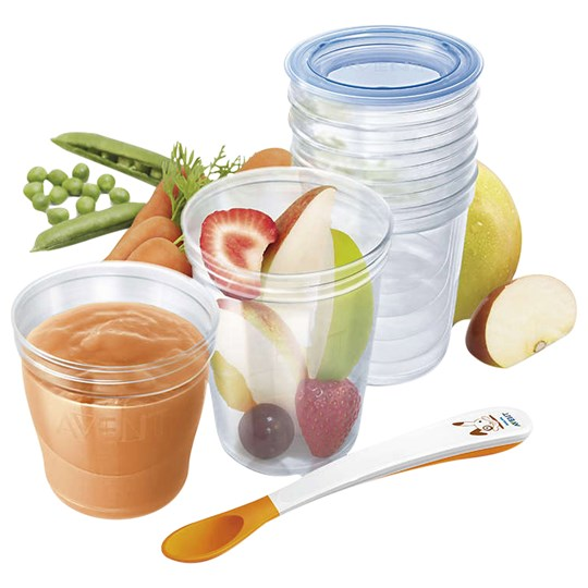 Philips Avent 20-Pack Food Storage Cups Multi