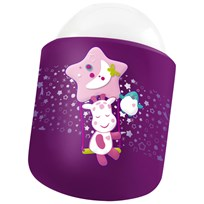 Pabobo Nomade Night Light Purple Giraffe Lilla