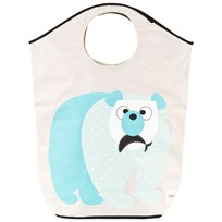 3 Sprouts Polar Bear Laundry Hamper Multi