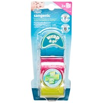 Tomme Tippee Sangenic WRAP&GO REFILL 3 PK Multi
