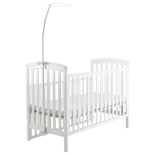 Baby Dan Canopy Bracket For Cribs White Multi