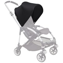 Bugaboo Bee3 Kalesje Black Bee3 Sun Canopy Black (ext)
