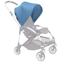 Bugaboo Bee³ Sun Canopy Ice Blue Bee3 Sun Canopy Ice Blue (ext)