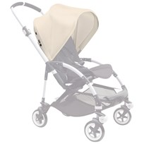 Bugaboo Bee3 Utdragbar Sufflett Off White Bee3 Sun Canopy Off White (ext