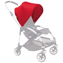 Bugaboo Bee³ Sun Canopy Red Bee3 Sun Canopy Red (ext)