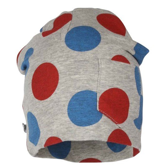 ebbe Kids Brett Beanie Blue/Red Dot Grey