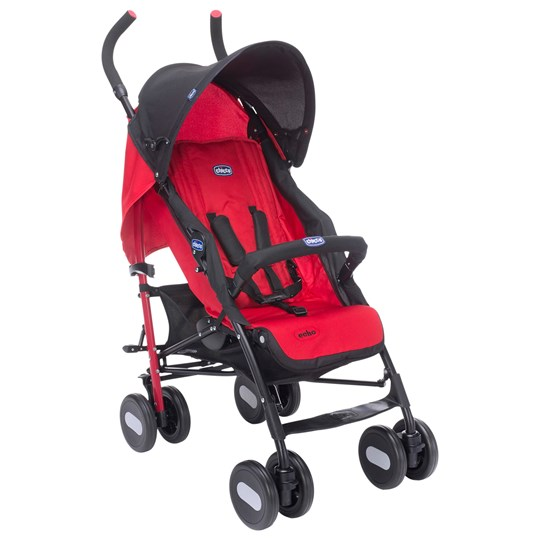 Chicco Echo Stroller With Bumper Bar Garnet Garnet Red
