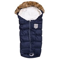 Easygrow Flex Extendable Footmuff Navy Melange Multi