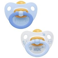 NUK Rose & Blue S2 (6-18m) Latex Pacifier 2-Pack пестрый
