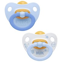 NUK Rose & Blue S2 (6-18m) Latex Pacifier 2-Pack Multi