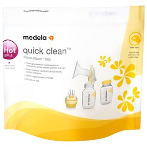 Image of Medela Quick Clean™ Microwave Bags - 5 Pack (3125344229)