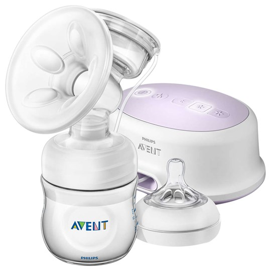 Philips Avent Natural Single Elektrisk Bröstpump White