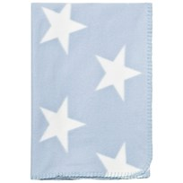 Borås Cotton Emerson Fleece Blanket Light Blue Lys Blå