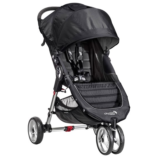 Baby Jogger City Mini Svart/Grå Black/Grey