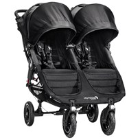 Baby Jogger City Mini GT Double Barnvagn Svart/Grå Multi