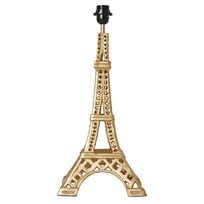 RICE A/S Metal Eifel Tower Table Lamp, Gold Gold