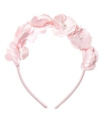 Mayoral Pink Flower and Pearl Headband 72