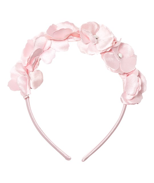 Mayoral Pink Flower and Pearl Diadem 72