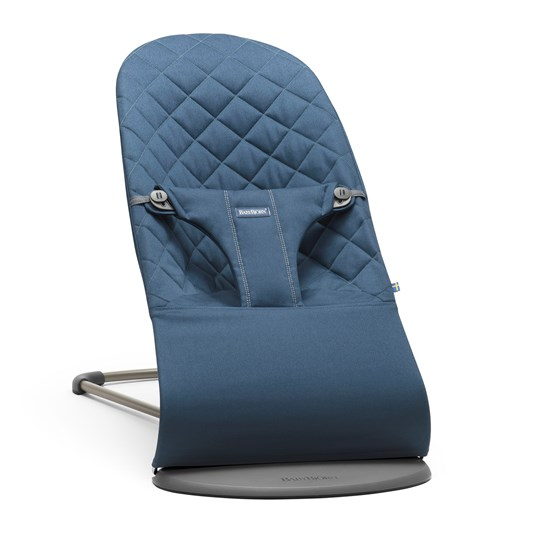 Babybjörn Bouncer Bliss Cotton Midnight Blue Midnight Blue