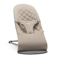 Babybjörn Bouncer Bliss Cotton Sand Grey Sand Grey