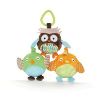Skip Hop Treetop Friends Owl & Friends Boll Trio Multi
