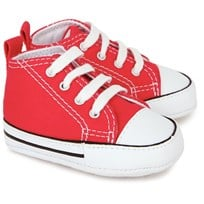 Converse First Star Red Red