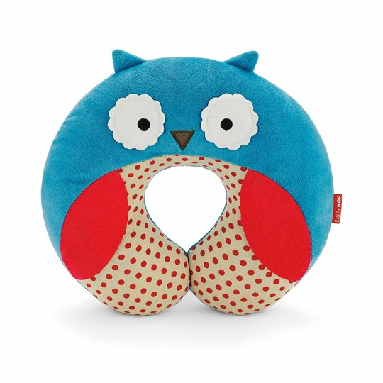 Skip Hop Zoo Travel Neckrest Owl Blue