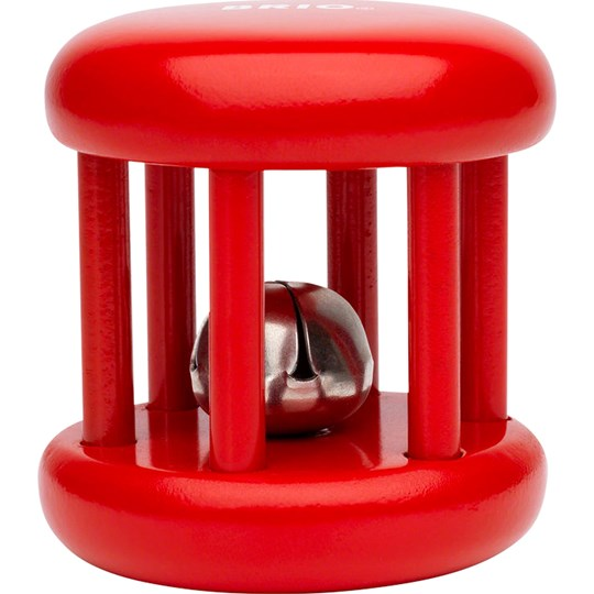 BRIO BRIO Baby - 30054 Bell Rattle Red Red