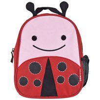 Skip Hop Zoo Mini Backpack With Safety Harness Ladybug Red